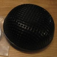 Air Filter Black Round Screen for S&S Super E/G Carburetor on Harley Davidson or S&S installations