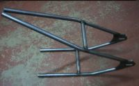Weld on Hardtail ( AVERAGE )  242mm axle plate inside width. 1