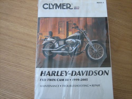 Clymer Manual For FXD Twin Cam 88.. 1999-2005