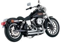 Dyna series Harley Davidson models  1995 - 2005 Vance & Hines Short Shots 17205 ..last priced 7/18