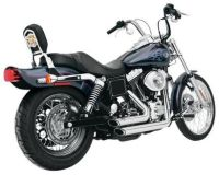 Dyna series Harley Davidson models  1995 - 2005 Vance & Hines Short Shots STAGGERED 17213 ..last priced 7/18
