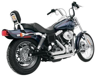 Dyna series Harley Davidson models  1995 - 2005 Vance & Hines Short Shots S