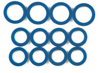 Shovel Blue silicon pushrod seal kit ( instead of the Harley Davidson cork