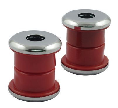 Handle Bar Dampener RED Polyurethane Fits Big Twin 73-17, XL Models ( Excep
