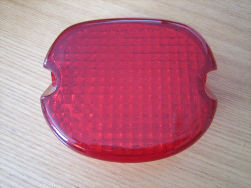 Laydown Taillight RED Lens Fits Big Twin & XL Models 73-98 and 99 Softail M