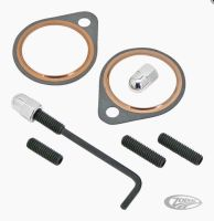 Exhaust Stud & Nut Kit Fits Shovelheads 66-84 Harley Davidson
