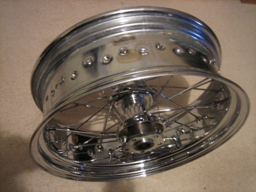 Harley Custom Chrome rear wheel 5.75 x 18 for chopper Bobber