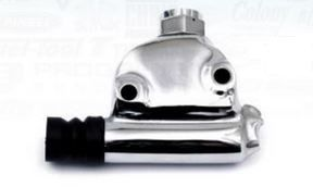 WAGNER LOCKHEED Rear Master cylinder POISHED CHROME nstead of Harley 41761-