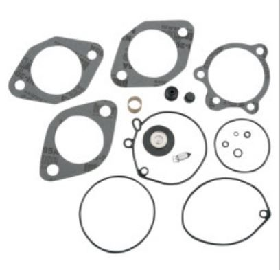 Harley C.V. or early pre cv plain butterfly carb rebuild kit... * INCLUDES