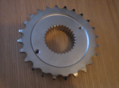 30 Spline 27.95mm Width front sprocket for Harley Davidson models requiring