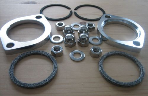 Exhaust Flange Kit * STAINLESS STEEL FASTENERS *