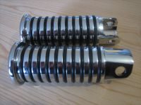 Chrome Sundance O ring Foot pegs Fits Sportster from 54-90 and FX Shovel from 71-85 OEM 52651-85T