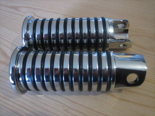 Chrome Sundance O ring Foot pegs Fits Sportster from 54-90 and FX Shovel fr