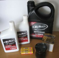Twin Cam & M8 Service Kit Cycle Haven for Harley Davidson Softail & Dyna Oil Filter BLACK + NOW includes our
