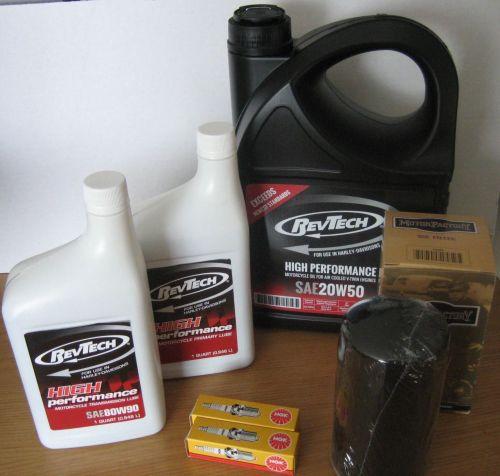 Dyna Glide Evo Service Kit BLACK Oil Filter Harley Davidson Dyna Glide 91-9