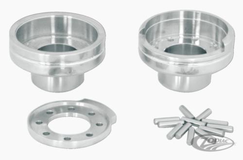 Internal fork stop for Harley Davidson press in type cups  hidden fork cup