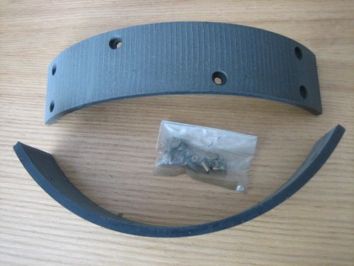37-57 Replacement brake shoe linings for OEM 41848-38