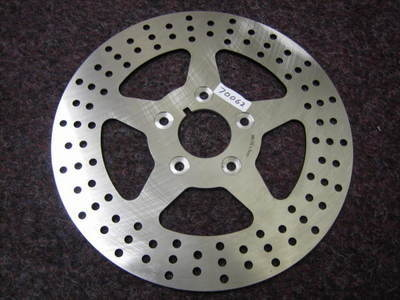 Front 84 - 99 Brake Disc Rotor Fit Harley Davidson Cycle Haven