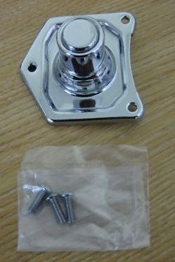 Chrome Solenoid Starter Button 1.2KW & 1.4KW Harley Davidson Big Twins 1991