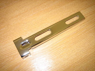 Chrome Seat Bracket Square End Cycle Haven