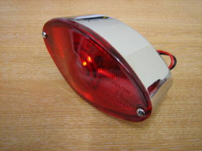Cat eye taillight Harley Chopper Bobber Trike Cycle Haven
