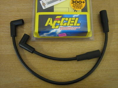 Accel 300+ 8.8mm Plug Wire for Harley Davidson FXD and Buell 99-06 models