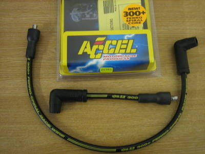 Accel 300+ 8.8mm Plug Wire Harley FXD, Softail, FX, XL Cycle Haven