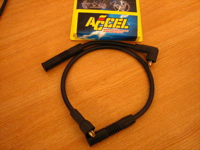 Accel 300+ 8.8mm Plug Wire for Harley Davidson Sportster 86-06 models