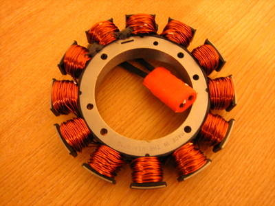 Stator for Big Twin 1989 thru1999 Harley Davidson Cycle Haven