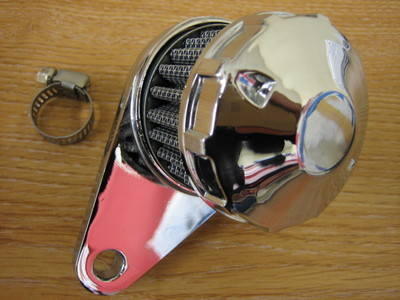 Engine breather filter Fits Harley Custom Bobber Chop...... Cycle Haven