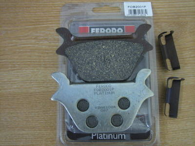Disc pads FERODO Big Twin & Sportster 87-99 Harley Davidson FDB2001P Cycle