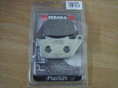Disc pads FERODO Harley Davidson Sportster Rear 2004-2012 FDB2180 CycleHave
