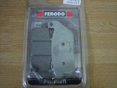 Disc pads FERODO Harley Davidson Sportster Front 2004-2012 FDB2179P CycleHa