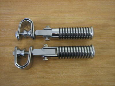 Sundance Universal Clamp on Foot Pegs Custom Bobber