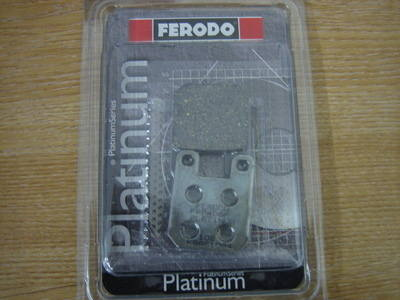 Disc Pads FERODO Fits PM 125 x 2  2-Piston Calipers FDB405P
