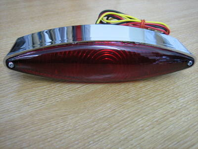 Snake Eye Tail Light Harley Bobber Custom Trike