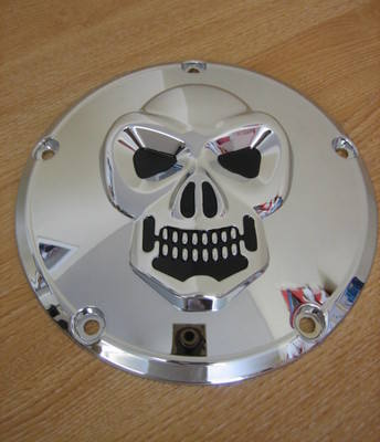 SKULL Harley Davidson Twin Cam Derby cover 1902-0061 Cycle Haven