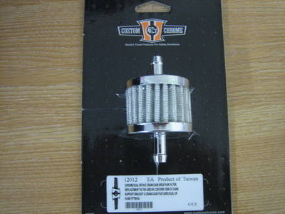 Chrome Dual Intake Breather filter for Harley Davidson CycleHaven