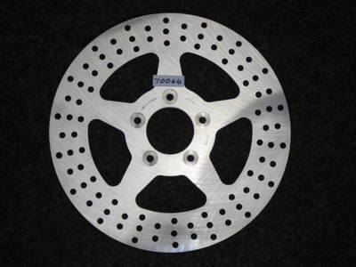 FRONT 2000 up Brake Disc Rota Fits Harley Davidson 70064 Cycle Haven