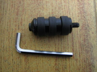 Toe Shifter Peg Black Fits Harley Davidson Vibra-Kushion Cycle Haven