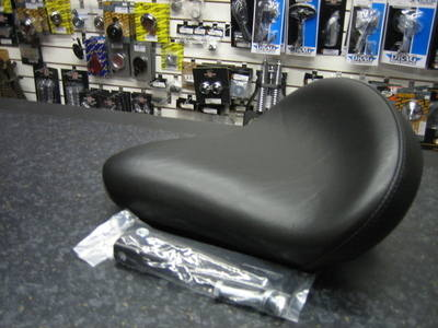 Le Pera 'Buddy Boy' Custom Solo Seat Black 640398 Cycle Haven