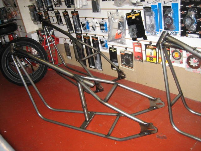 Twin frame ...tapered