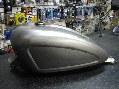 Sportster Replica King 3.2 Gallon Gas Tank for 2007 up EFI models with Inde