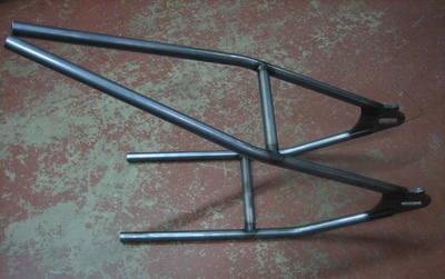 Weld on Hardtail MEDIUM 234mm axle I.D. width, Cold Drawn Seamless tubing