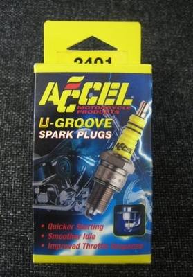 Accel Spark Plugs fit 1948 - 1974 Harley Davidson Big Twin models