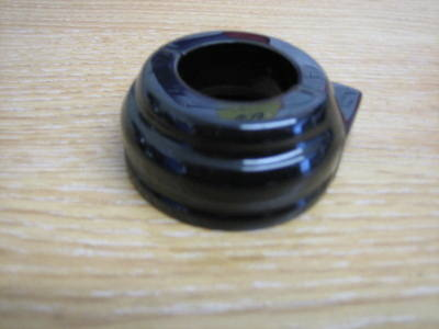 Black Dual Cable Throttle Clamp Fits 1