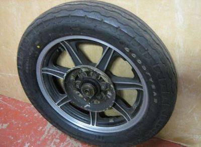 Yamaha XS1100 rear wheel