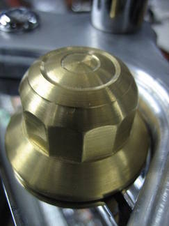 Springer Fork Brass Top Nut fits 1