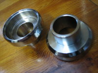 Headstock Steering Neck Bearing Cups for Harley type ( Replaces 48315-60 ) Chopper Bobber Trike Forks
