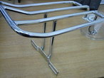 SOFTAIL Two up CHROME Luggage Rack for 06-17 FLSTC Harley Davidson ...Cycle Haven